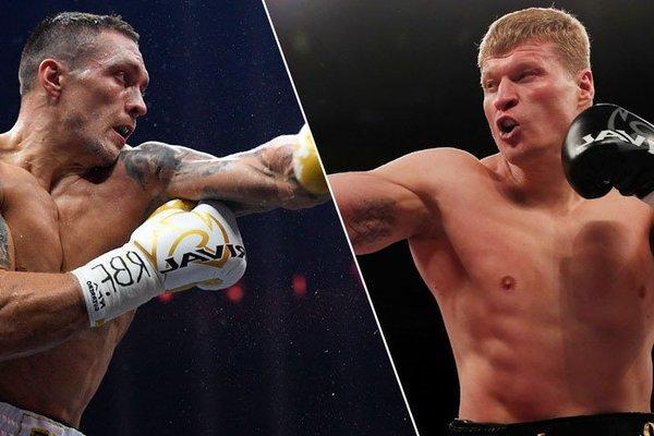 Офіційно: російський боксер Повєткін погодився битися з Усиком і чекає на рішення українця