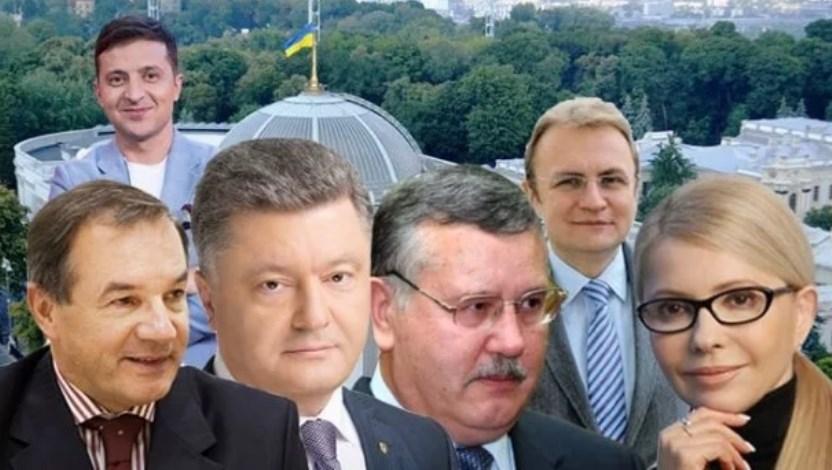 Місця лідерів змінюються! Тимошенко, Зеленський, Порошенко – хто в топі свіжого рейтингу
