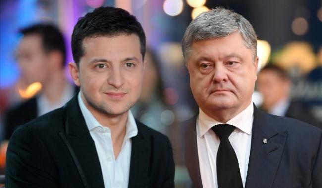 До другого туру президентських перегонів виходять Володимир Зеленський і Петро Порошенко – національний екзит-пол