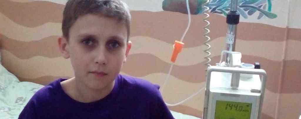 Сім'я Максютов просить допомоги вилікувати сина Давида