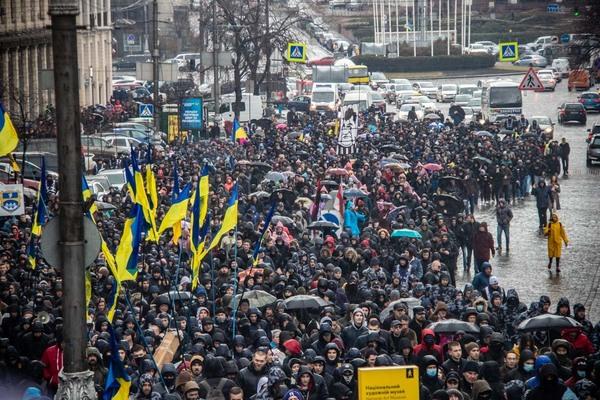 """""""Будемо говорити по-іншому!"""": Активісти Нацкорпусу поставили ультиматум Порошенку і пригрозили радикальнішими акціями"""