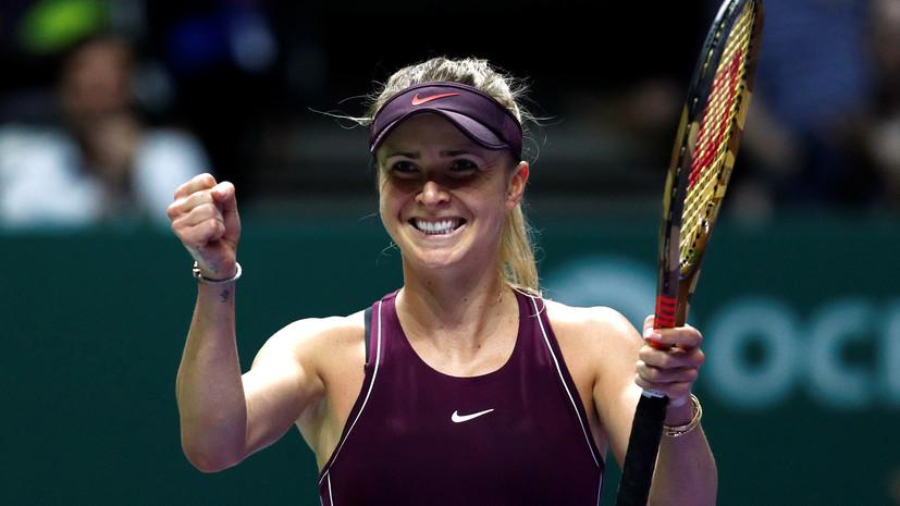 Тенісистка Еліна Світоліна пробилася до третього раунду турніру з призовим фондом понад 9 мільйонів доларів