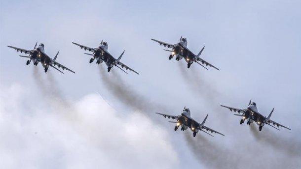 Понад 50 літаків піднято в небо! Російська авіація в небі Чорного моря. Бойова тривога.