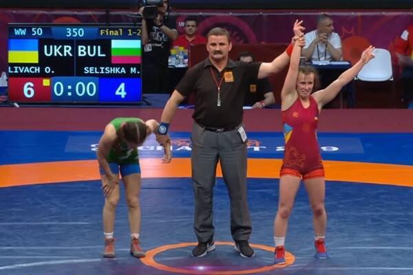 Знай наших: Україна завоювала перше «золото» Чемпіонату Європи з боротьби