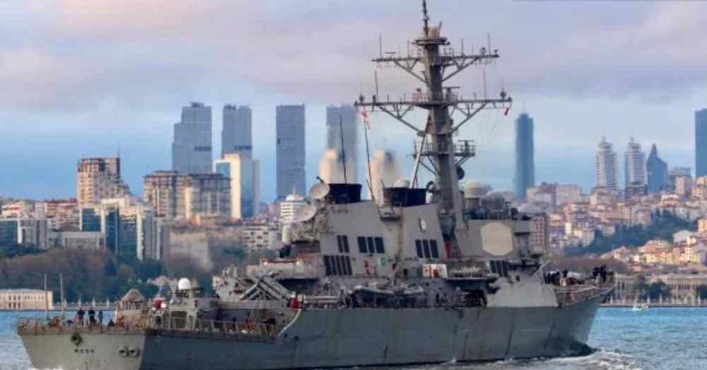 """Окупанти у шоці! У Чорне море увійшов ракетний есмінець США: На борту 90 ракет """"Томагавк"""""""