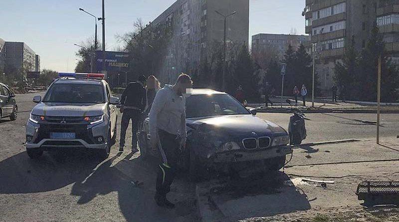У машині знаходився 5-місячний малюк: екс-капітан міліції спровокував страшне ДТП в Енергодарі