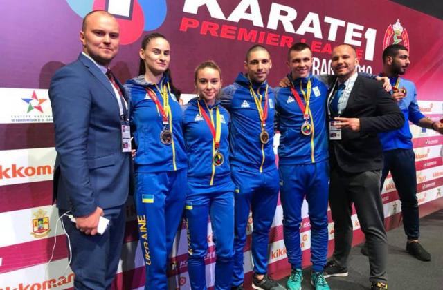 Найбільший успіх наших каратистів за всю історію: Українці вибороли чотири медалі на етапі Прем'єр-ліги в Рабаті