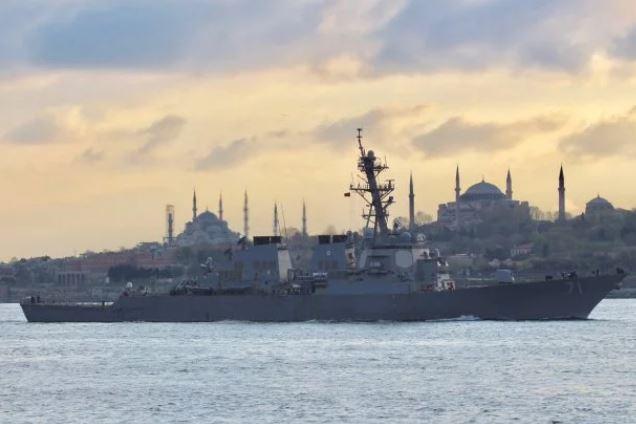 Загроза близько? Військовий корабель США увійшов в акваторію Чорного моря