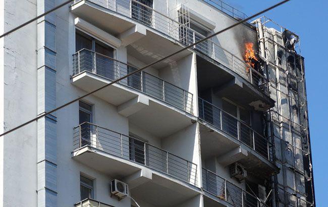 Масштабна пожежа в Одесі: палає 12-поверхівка, людей евакуйовано
