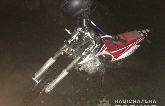 Смертельна ДТП на Закарпатті: Катаючись на мотоциклі загинув 14-річний хлопець, інші підлітки травмовані