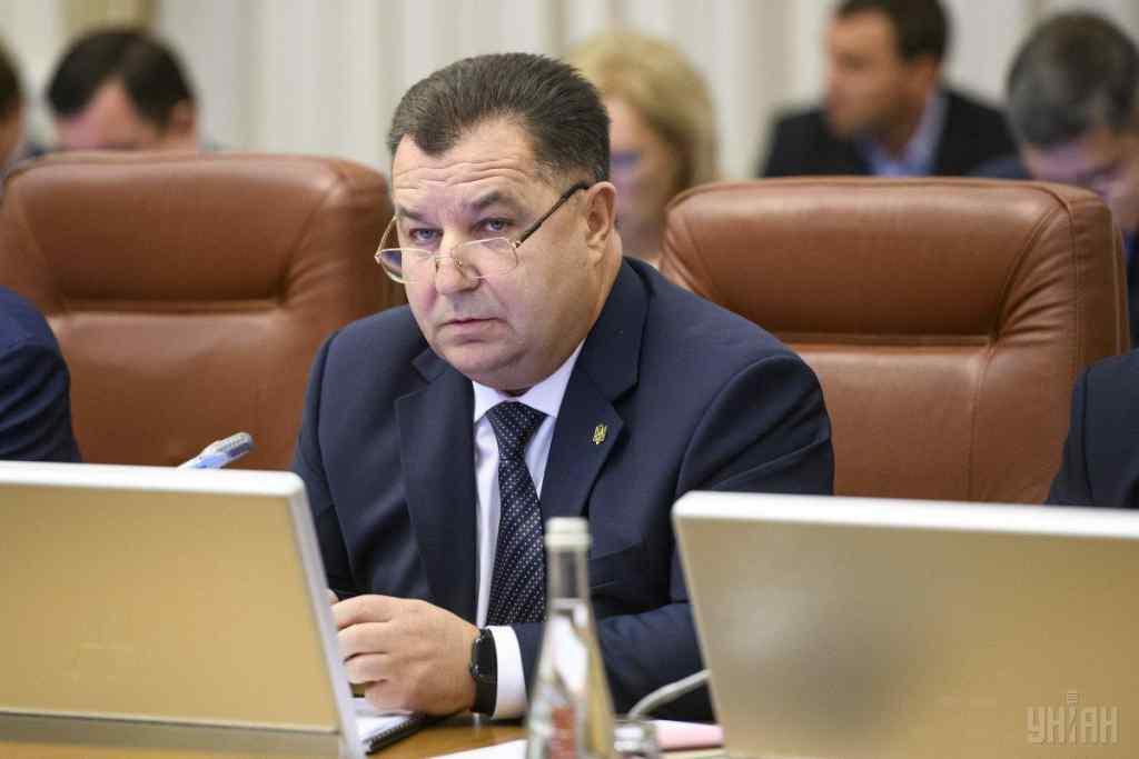 Міністр оборони України подав у відставку одразу після інавгурації