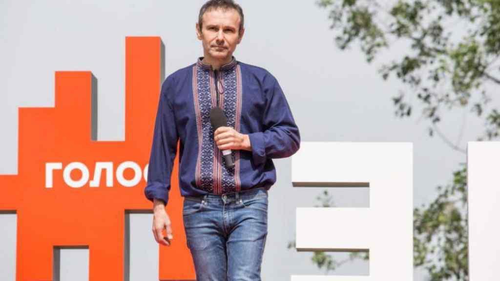 """Новоспечений політик Вакарчук розповів про позицію партії """"Голос"""" стосовно Зеленського"""