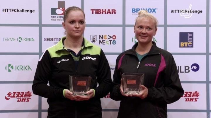 Українські спортсменки дійшли до фіналу турніру серії Challenge – Slovenia Open