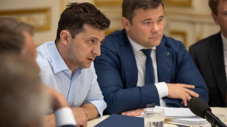 Закон про люстрацію: У Зеленського назвали умови звільнення Богдана з посади глави Адміністрації Президента
