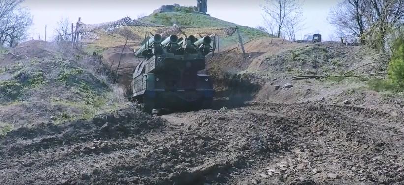 В зоні ООС підвищена боєготовність ПВО! Повідомлення штабу