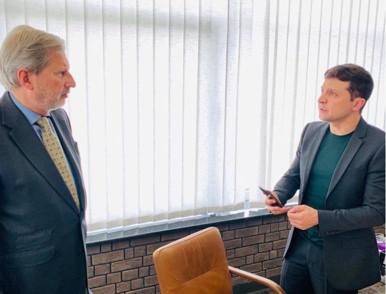 Припинити вогонь! Зеленський провів термінову зустріч з Єврокомісаром. Сильна заява