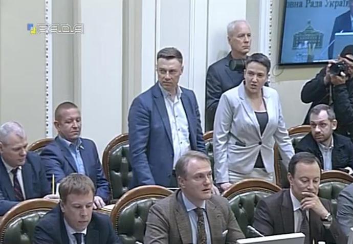 """""""Вимагали розглянути питання інавгурації"""": Савченко і Купрій намагалися зірвати засідання погоджувальної ради"""