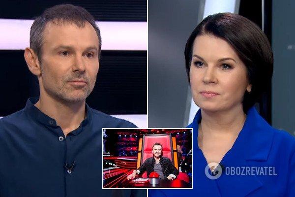 """Алла Мазур у прямому ефірі """"розмазала"""" Вакарчука і його політичну партію """"Голос"""""""