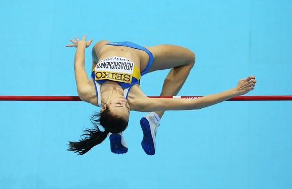 Українка Ірина Геращенко очолила світовий рейтинг зі стрибків у висоту