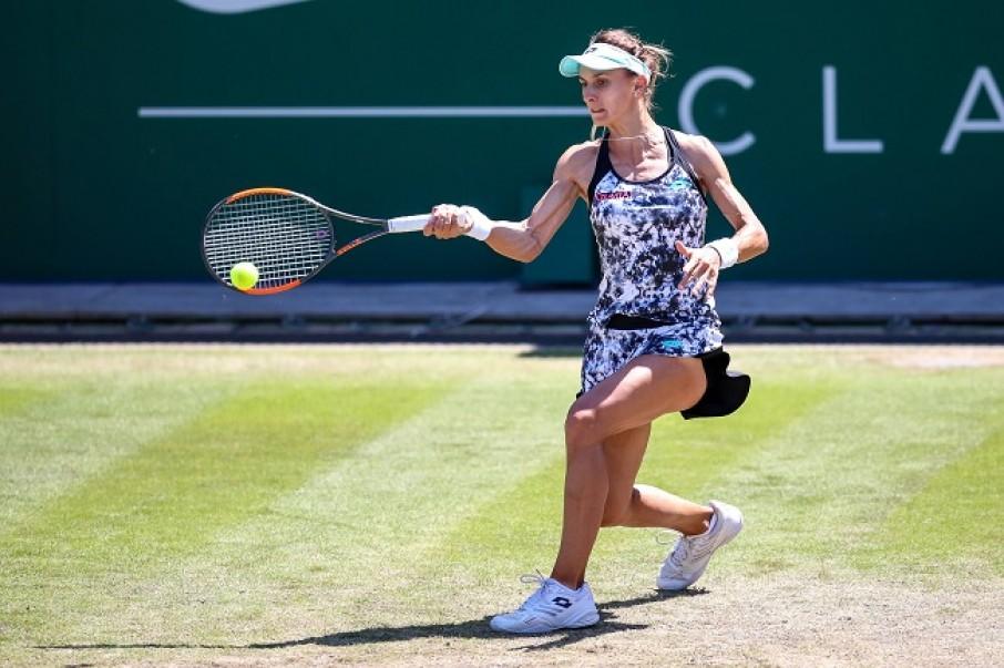 30-річна Леся Цуренко впевнено пробилася до другого кола турніру WTA перемогою над Плішковою