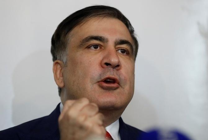 """""""Ми не можемо йти на компроміси"""": Саакашвілі заявив, що йде на вибори самостійно"""