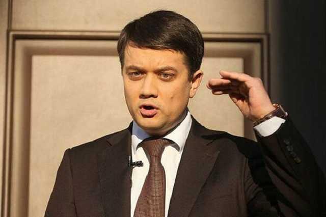 До 6 млн доларів. Разумков розповів про продаж місць у партії. Не готові за це відповідати!