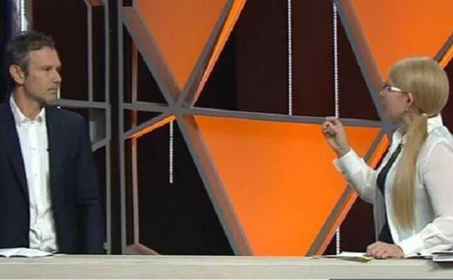 """""""Повний нуль"""": Тимошенко принизила Вакарчука у прямому ефірі простим запитанням. Соромно таке не знати"""