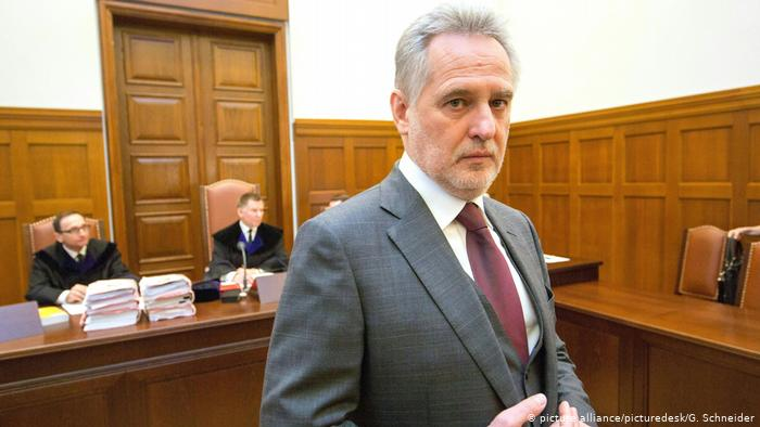 В Австрії почалося засідання суду щодо екстрадиції олігарха Дмитра Фірташа до США