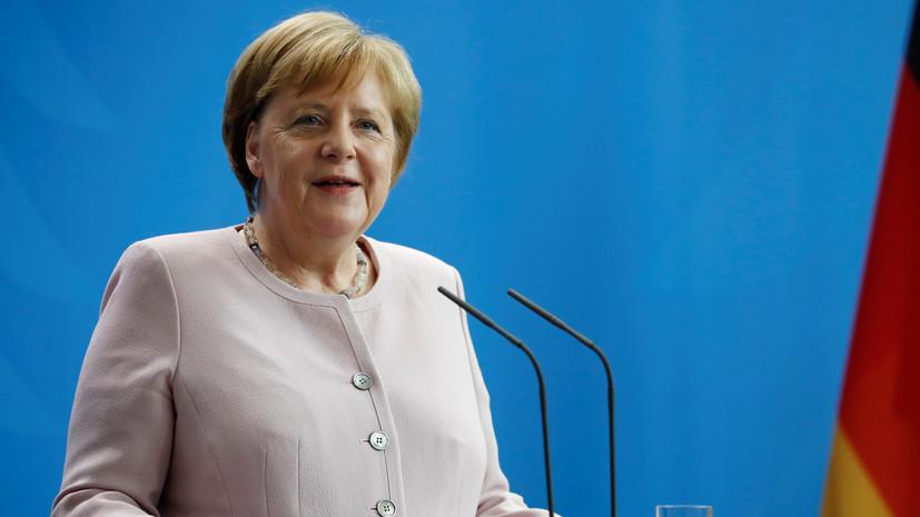 Новий припадок: Ангелі Меркель знову стало погано на одній із зустрічей