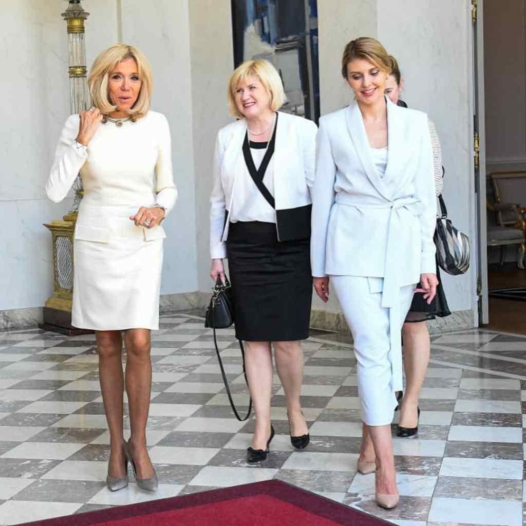 Дружина президента Франції розкрила Зеленській секрети успіху першої леді