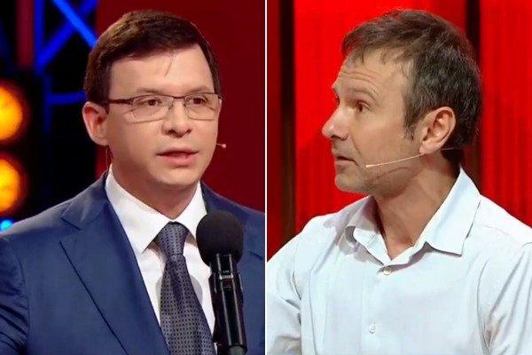 """""""Це хамство! Просто станьте нормальною людиною"""": Вакарчук в прямому ефірі накинувся на Мураєва"""
