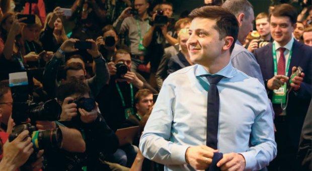 """Зеленський прибув до Берліна для обговорення з Меркель теми """"війни"""" та економічних питань"""