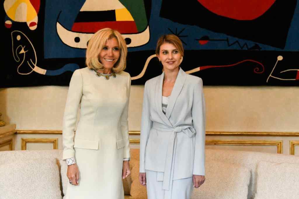 Зустріч перших леді: Про що розмовляли Олена Зеленська та Бріжит Макрон?