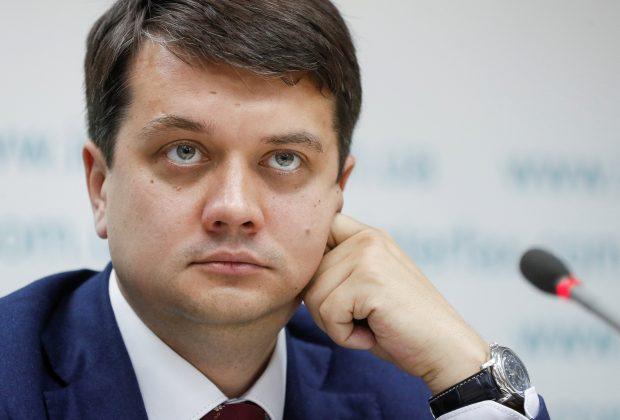 """""""Занадто багато!"""": Разумков зробив важливу заяву про роботу в Раді. Щоб усім вистачило портфелів"""