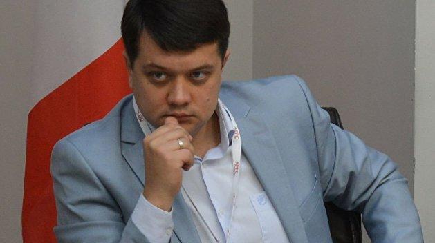 """""""Швидко завершити війну не вдасться"""": Разумков зробив гучну заяву. Це питання вирішує не парламент!"""