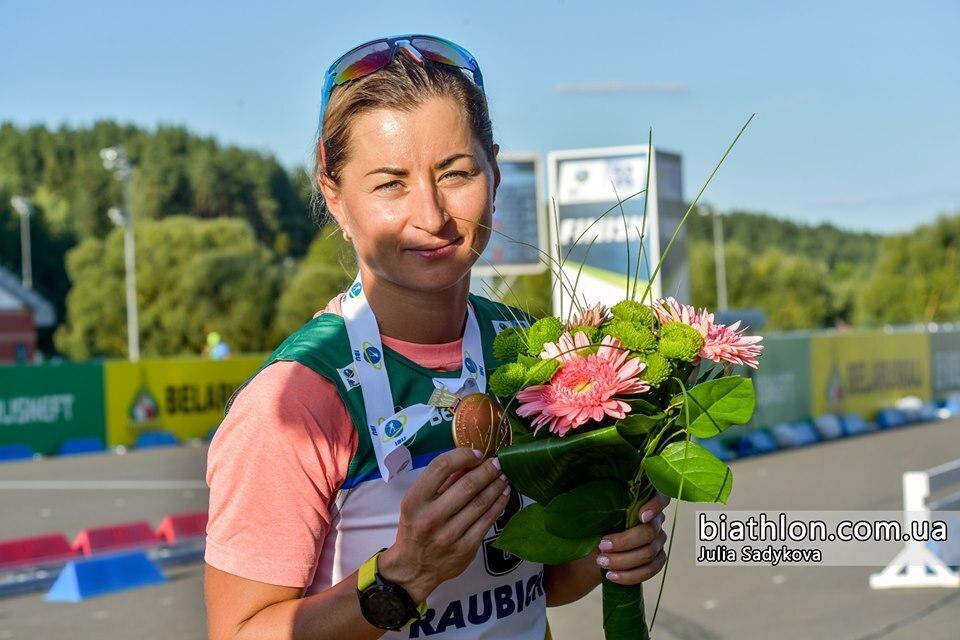 """""""Чула тільки дихання суперниць"""": Українка Валя Семеренко виграла літній чемпіонат світу з біатлону"""