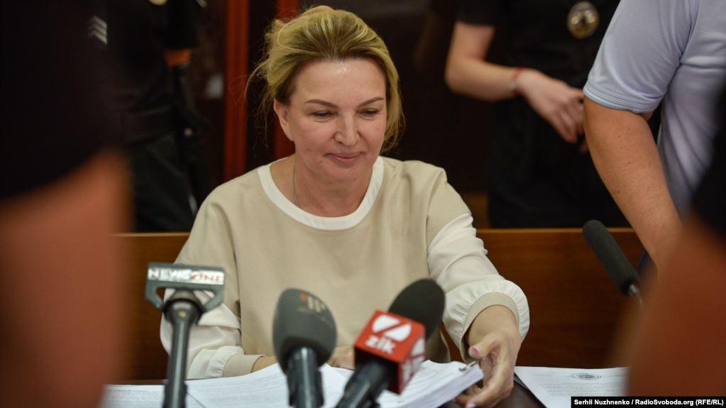 Розкрадання держкоштів: Богатирьову заарештували на 2 місяці з правом застави у 6 млн гривень