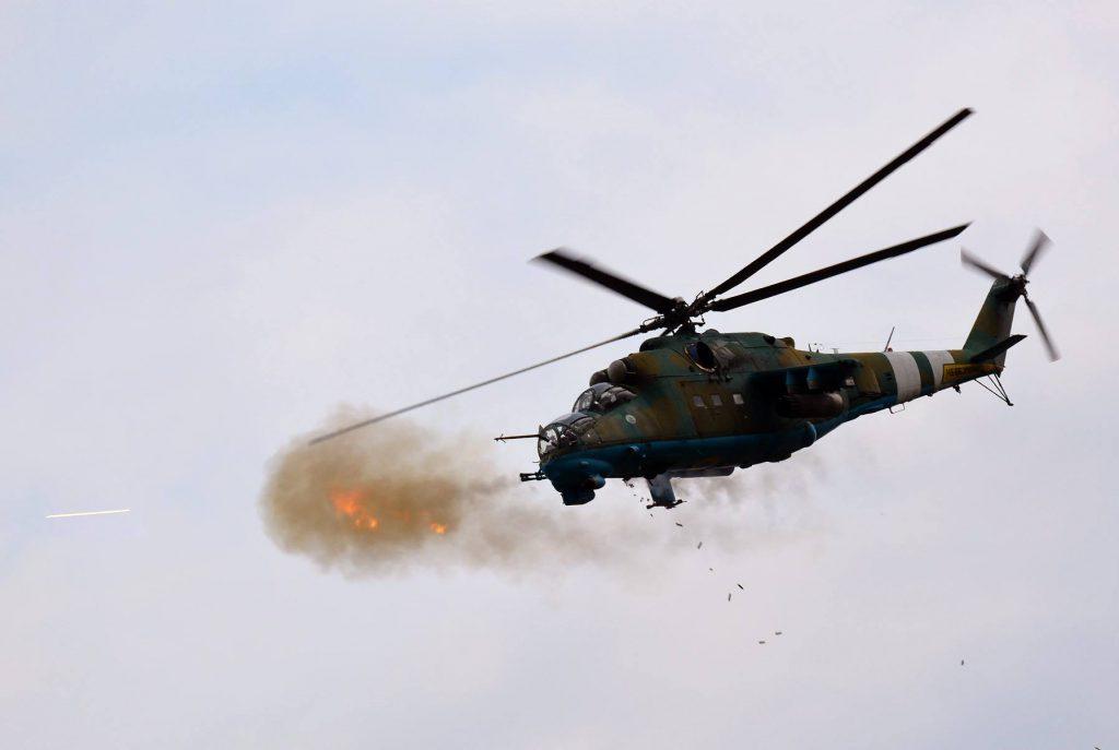 На Львівщині під час військових навчань розбився вертоліт: перші подробиці