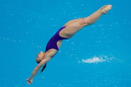 """Це вже друге """"золото"""": Українка виграла Чемпіонат Європи зі стрибків у воду"""