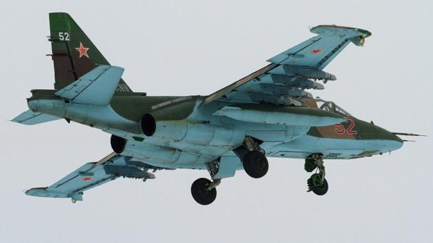 У Росії розбився військовий літак Су-25: сплили подробиці трагедії
