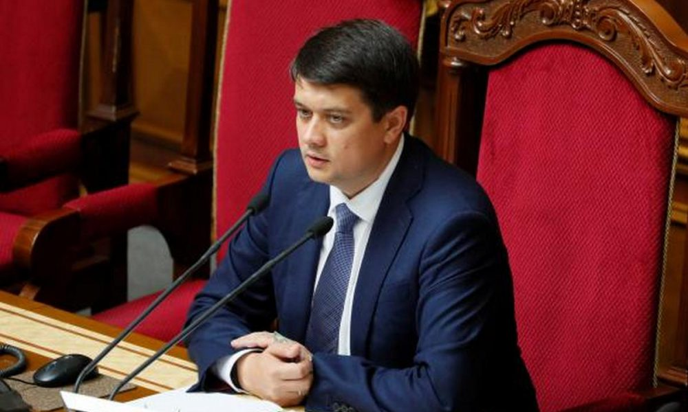 """""""Щоб не було питань"""": Разумков пояснив радикальне рішення розпуску ЦВК"""