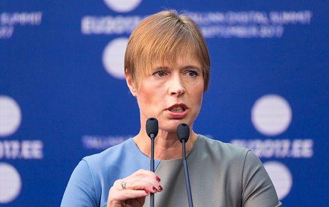 Президент Естонії прибуде з робочим візитом до України. Зеленський і Разумков чекають
