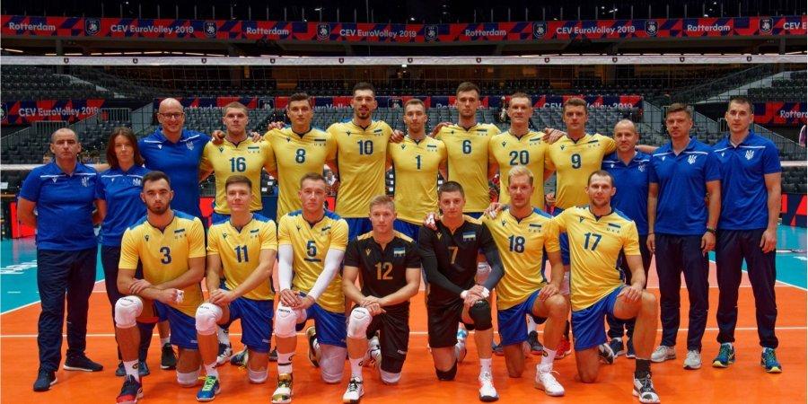 Збірна України сенсаційно пробилась в чвертьфінал чемпіонату Європи з волейболу