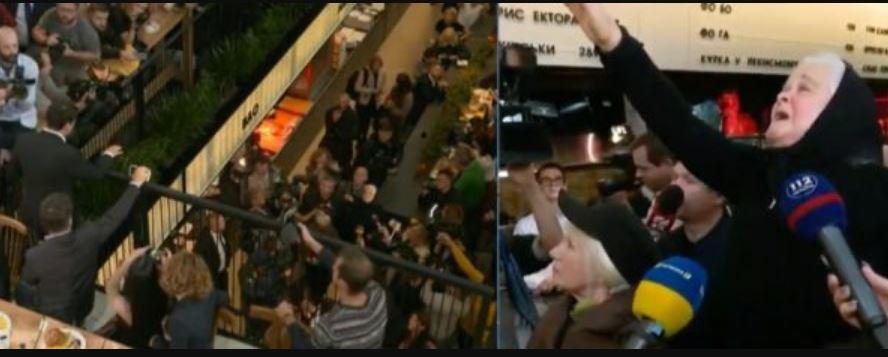 """""""Мене не вистачить на всю країну!"""": Інцидент під час прес-марафону Зеленського. Крики і сльози"""