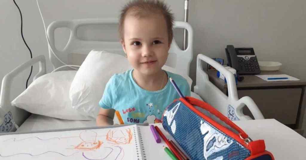 4-річній Кірі необхідна негайна пересадка кісткового мозку