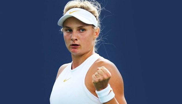 Українська тенісистка Ястремська впевнено обіграла китаянку на престижному турнірі