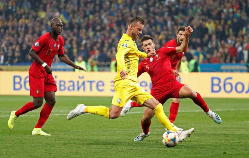 Героїчна перемога! Українська збірна обіграла Португалію і достроково вийшла на Євро-2020
