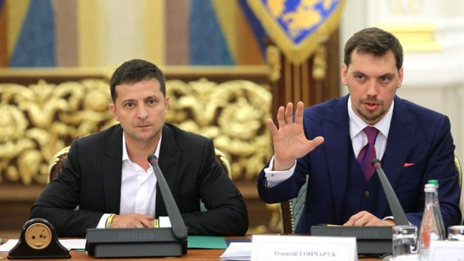 """Прем'єр Гончарук публічно відмовився виконувати важливу обіцянку Зеленського. """"У нас зараз мета…"""""""