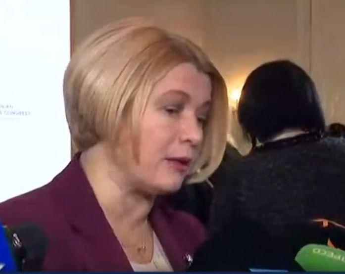 """""""Порошенко – негідник!"""": Геращенко отримала """"гучного ляпаса"""" після переговорів у Парижі. """"Ви вже надомовлялись у 2015!"""""""