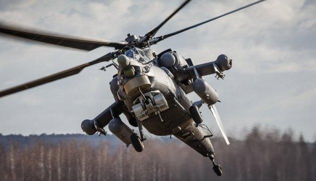 Усі загинули! Вночі розбився російський вертоліт з військовими. Працюють рятувальники